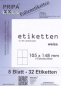 Preview: Etiketten 105x148mm wetterfest