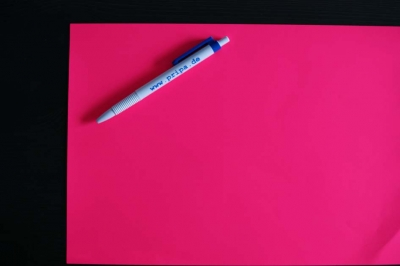 Papier Tagesleuchtfarbe pink